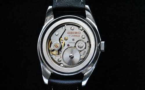Free stock photo of Analog watch, antique watch, caliber, mechanical