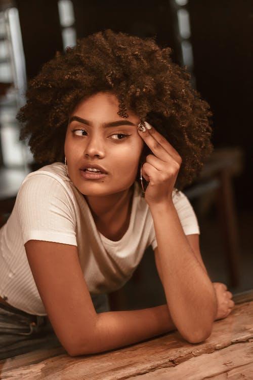 より多くの, アフリカ系アメリカ人の女の子, アフロ
