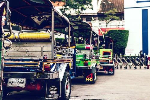 Row of Auto-rickshaw