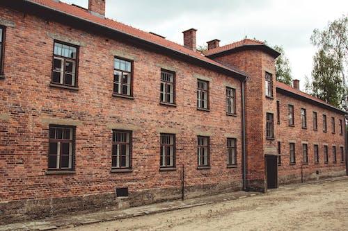 Foto d'estoc gratuïta de a l'aire lliure, antic, arquitectura, auschwitz