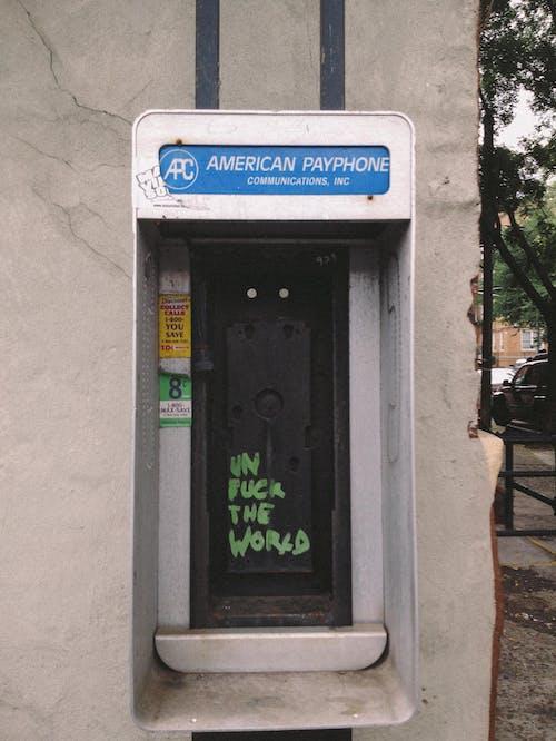 거리, 건물, 공중 전화, 공중전화의 무료 스톡 사진