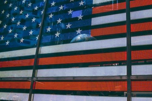 Fotos de stock gratuitas de al aire libre, azul, bandera estadounidense, blanco