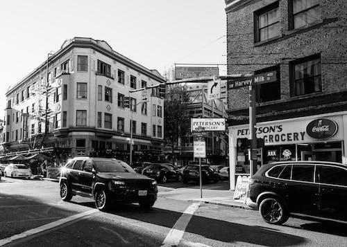 Darmowe zdjęcie z galerii z #bw #citystreets #streetphotography #pdx