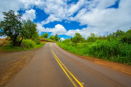 Free stock photo of blue, cars, clouds, hawaii