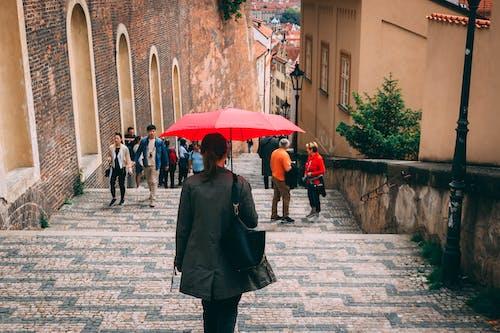 Foto d'estoc gratuïta de a l'aire lliure, arquitectura, carrer, carrer de llambordes