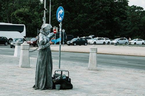 Female Concrete Statue
