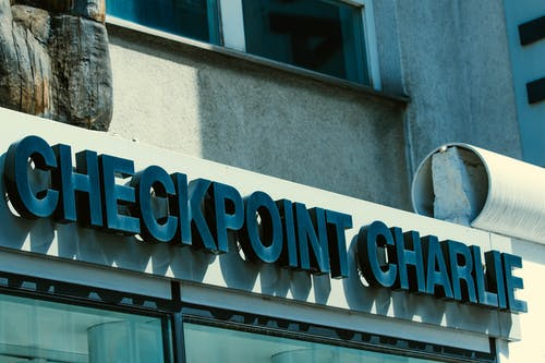 Free stock photo of checkpoint charlie