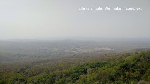 Gratis lagerfoto af baggrund, horisont, natur baggrund