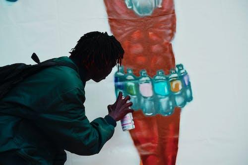 Free stock photo of art exhibition, Eddy Dancer, graffiti