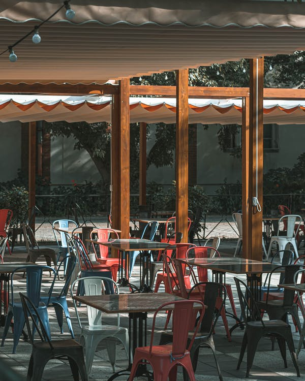 архитектура, Бар-кафе, в помещении