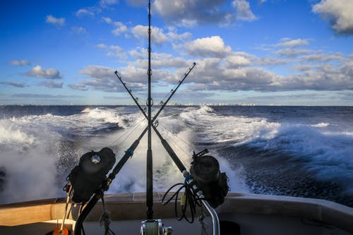 Foto stok gratis awan, kapal besar, langit biru, lautan