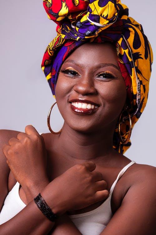 Ingyenes stockfotó afrikai nő, afro-amerikai nő, álló kép, arc témában