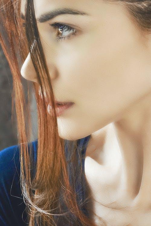 глаза, губы, девушка, женскийпол 的 免费素材照片
