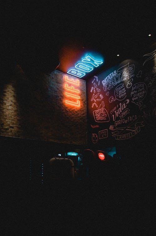 LED, 가벼운, 간판, 글의 무료 스톡 사진