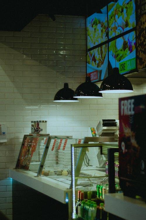 açık, Dükkan, iç dekorasyon, kap içeren Ücretsiz stok fotoğraf