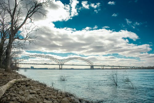 Free stock photo of blue sky, bridge, clouds, cold