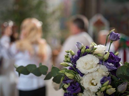 Immagine gratuita di chiesa, decorazione, fiori, matrimonio