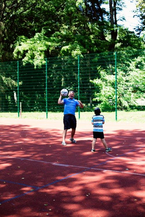 Immagine gratuita di bambino, basket, estate