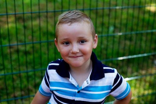 Free stock photo of boy, child, smile, summer