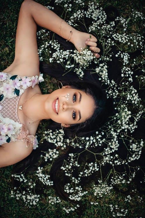 귀여운, 꽃, 꽃무늬 드레스, 드레스의 무료 스톡 사진