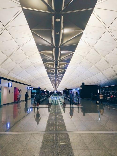 Foto stok gratis Bandara, Hongkong, perjalanan
