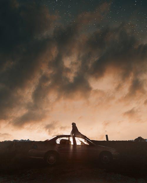 Immagine gratuita di alba, astronomia, cielo, cielo stellato