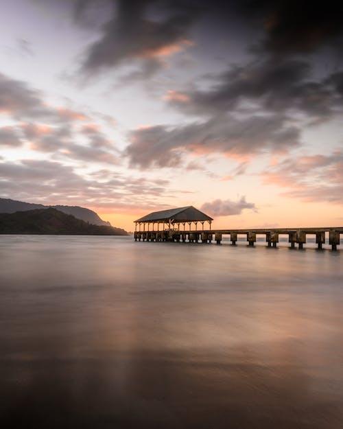 Gratis stockfoto met dageraad, dek, Hawaii, hemel
