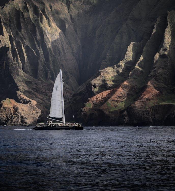 hajóm csónak, hawaii, hegy