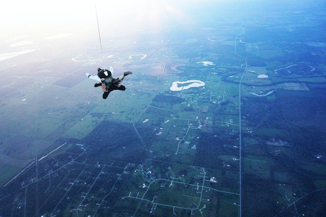 Free stock photo of Nasa SkyDiving