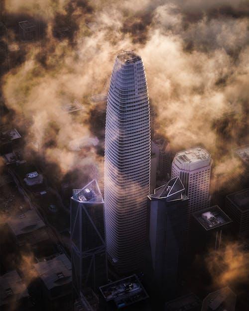 Безкоштовне стокове фото на тему «аерознімок, архітектура, багатоповерховий, будівлі»