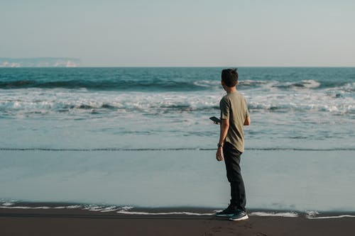 Δωρεάν στοκ φωτογραφιών με ακτή, άμμος, άνδρας, αρσενικός