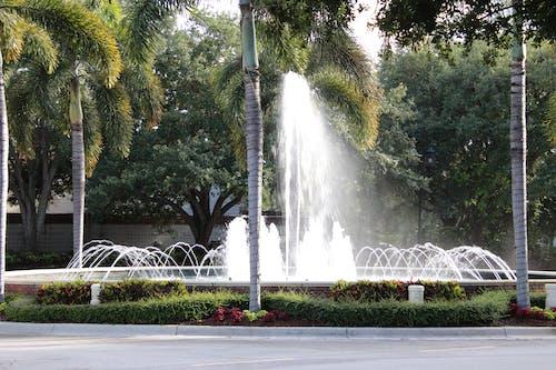 Fotobanka sbezplatnými fotkami na tému vodná fontána