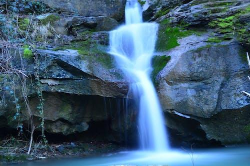 Gratis stockfoto met lange blootstelling, waterval
