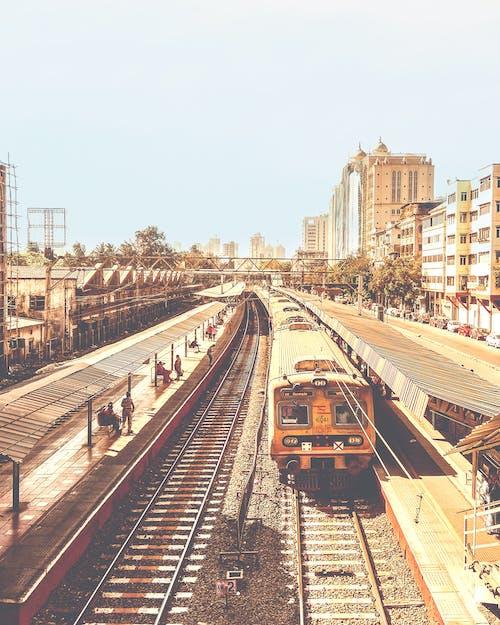 シティ, タウン, ムンバイローカル, モダンな建物の無料の写真素材