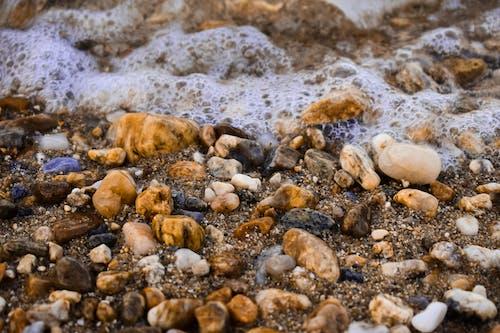 คลังภาพถ่ายฟรี ของ ก้อนกรวด, ชายหาด, ทราย, บรรยากาศฤดูร้อน
