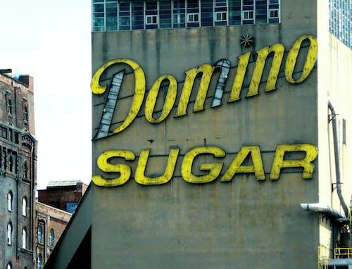多米诺骨牌糖, 紐約, 霓虹燈 的 免费素材照片
