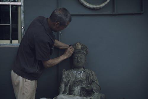 Ảnh lưu trữ miễn phí về bức tượng, Đàn ông, điêu khắc, nghệ sĩ