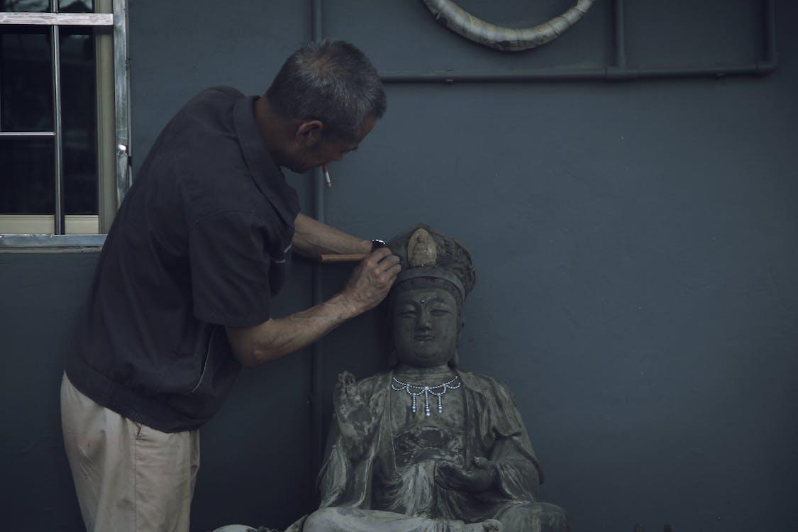bức tượng, Đàn ông, điêu khắc