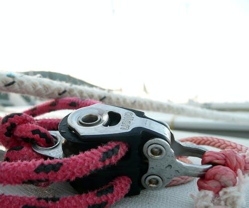 滑轮, 特寫, 索具, 繩子 的 免费素材照片