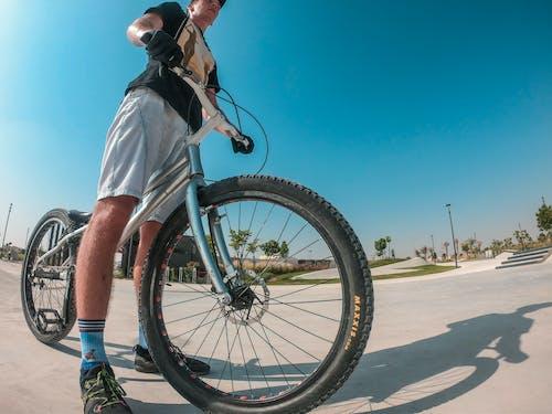 Imagine de stoc gratuită din adult, agrement, bărbat, bicicletă