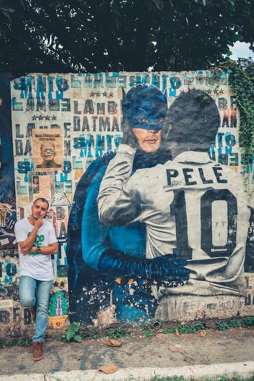 Photos gratuites de graffiti, homme, individu, mur