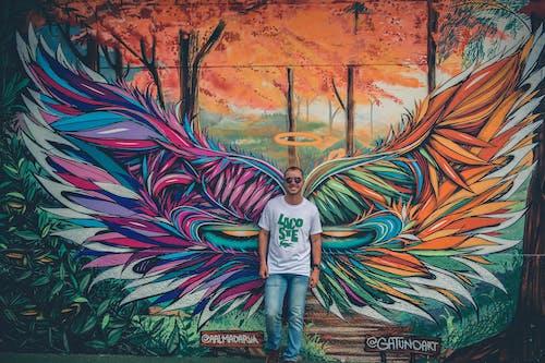 Kostnadsfri bild av fritidskläder, graffiti, grafisk, konstnärlig