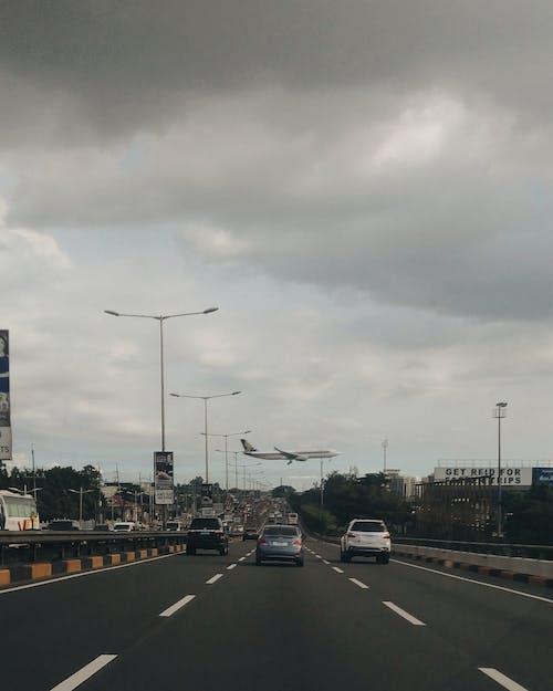 Foto stok gratis Filipina, jalan raya, jalan yang sibuk