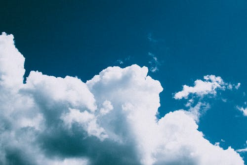 Photo of Clouds in a Blue Sky