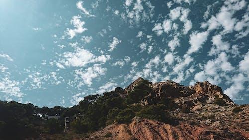 丘陵, 天性, 岩石的, 日光 的 免費圖庫相片