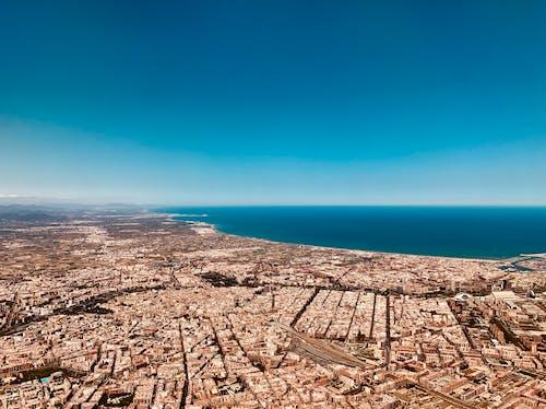 Darmowe zdjęcie z galerii z miasto, miejski, widok z lotu ptaka, z góry
