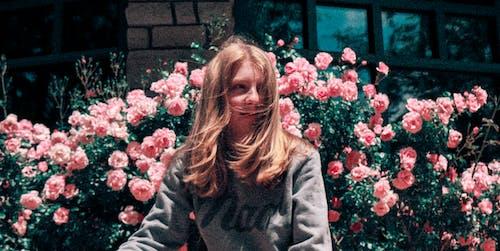 Gratis arkivbilde med blomster, blond, dagslys, forblåst