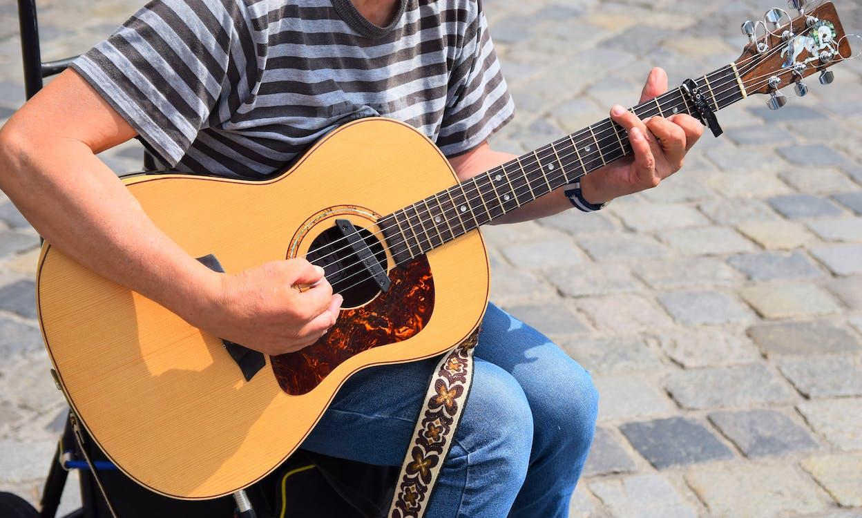 人, 休閒, 原聲吉他