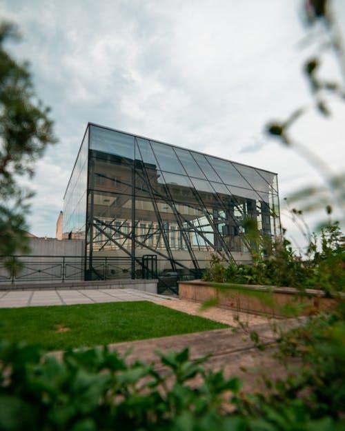 Immagine gratuita di architettura, conservatorio, edificio, erba