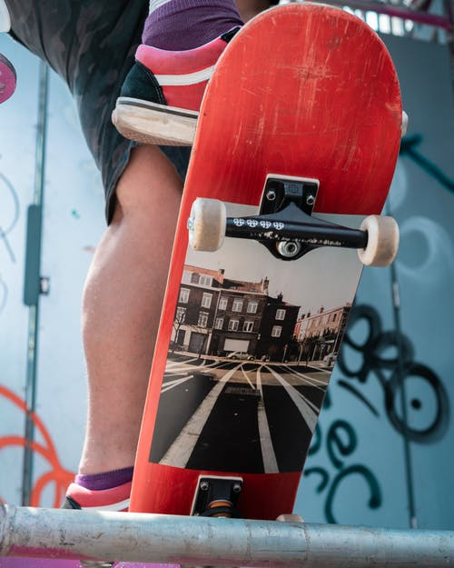 Photo of Person on Skateboard